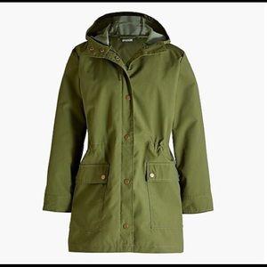 J Crew Factory Utility Rain Jacket